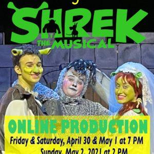 UHS SHREK the MUSICAL DVD & Digital Download